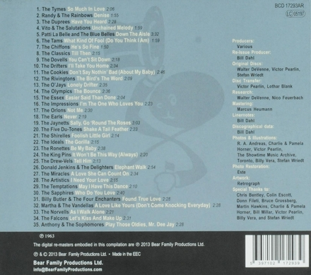 Street corner symphonies : the complete story of doo wop. Vol. 15, 1963