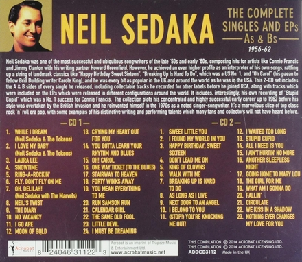 The complete singles and ep's A's & B's 1956-62