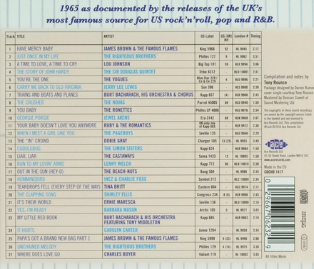 The London American label year by year 1965