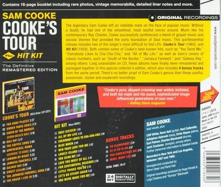 Cooke's tour ; Hit kit