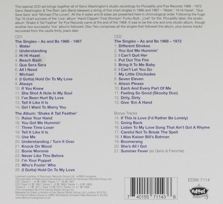 Geno! : The Piccadilly & Pye studio recordings