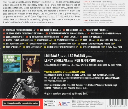 Stormy monday ; Les McCann sings