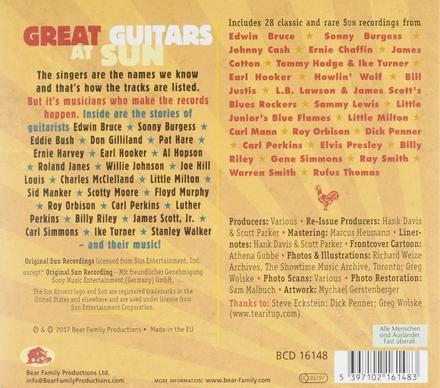 Great guitars at Sun