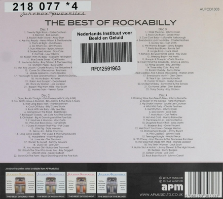 Jukebox favourites : The best of rockabilly