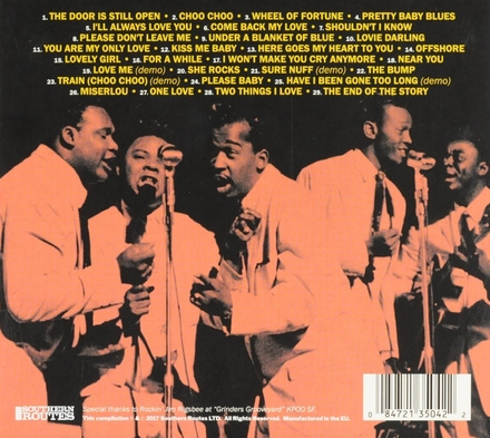 The Cardinals featuring Eddie Warren : Their complete recordings