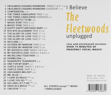 I believe : Unplugged 1959-1961