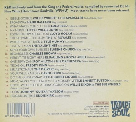R&B hipshakers. vol.1 : Teach me to monkey