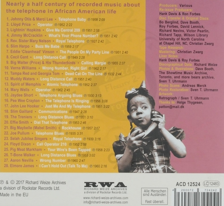 Talking on the telephone : Blues, R&B and gospel. vol.1
