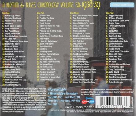 1938-39: A rhythm & blues chronology. vol.6