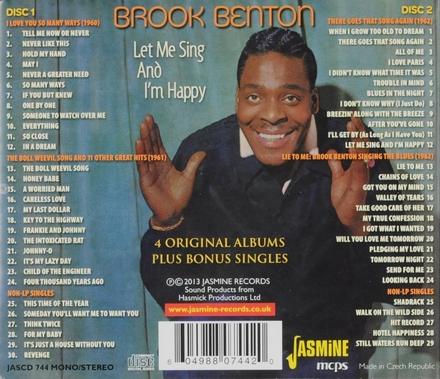 Let me sing and I'm happy : 4 original albums plus bonus singles