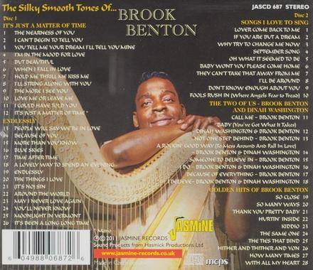 The silky smooth tones of... Brook Benton