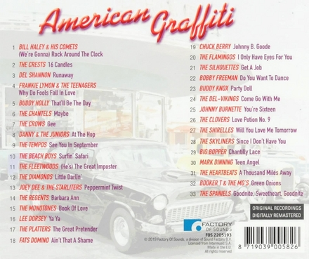 American graffiti : good ol' rock 'n' roll