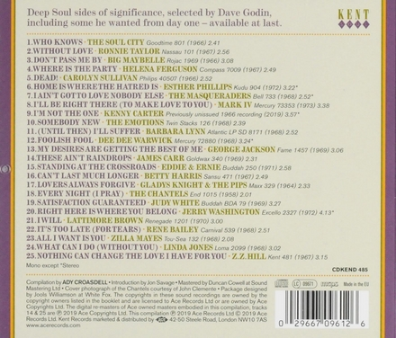 Dave Godin's deep soul treasures. Vol. 5