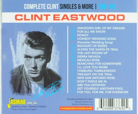 Complete Clint : singles and more 1961-1962