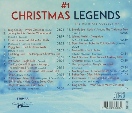 #1 Christmas legends : the ultimate collection