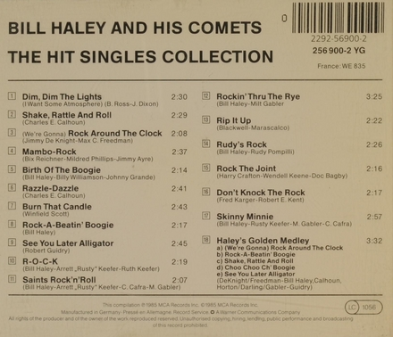 The hit singles collection