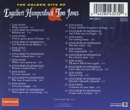 The golden hits of Engelbert Humperdinck & Tom Jones