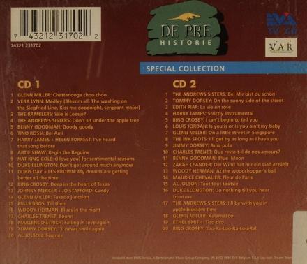 De pre historie : muziek uit de oorlogsjaren '40-'45. 2