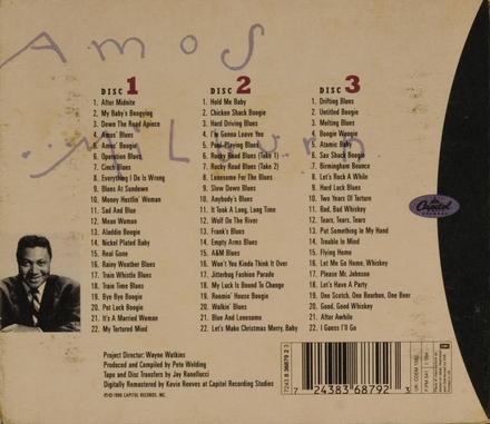 Blues, barrelhouse & boogie woogie : 1946-'55. vol.15