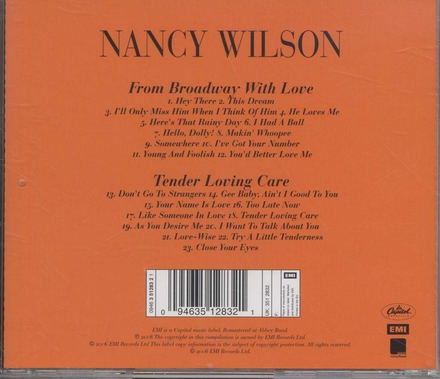 From Broadway with love ; Tender loving care