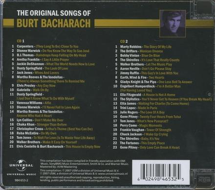 The original songs of Burt Bacharach
