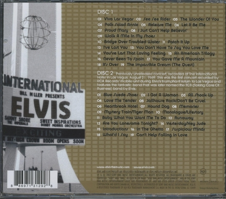 Elvis : Viva Las Vegas
