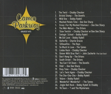 Cameo Parkway : the greatest hits