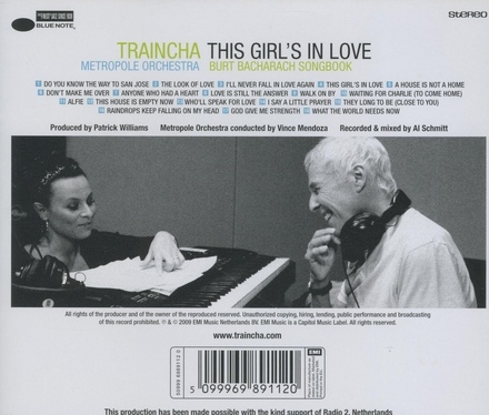 This girl's in love : Burt Bacharach songbook