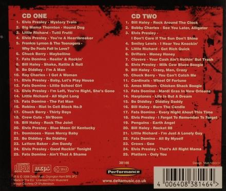 50 rock and roll originals