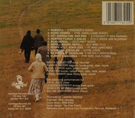 The prisoner's song