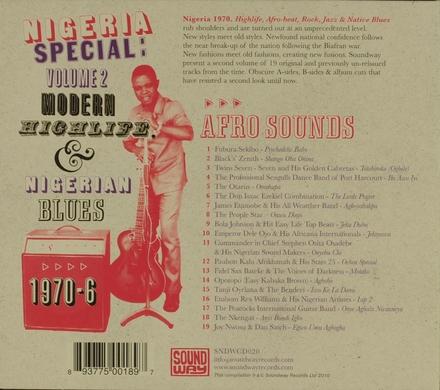 Nigeria special : modern highlife, Afro-sounds & Nigerian blues 1970-1976. Vol. 2