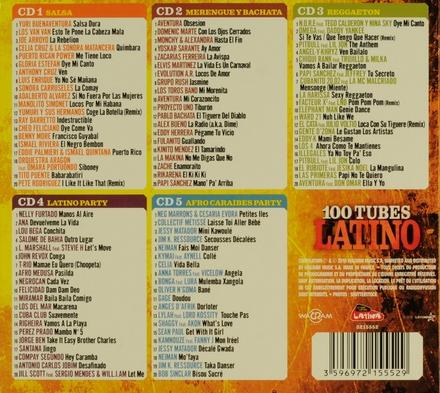 100 tubes latino