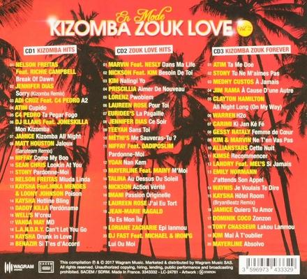 En mode : Kizomba zouk love. vol.2