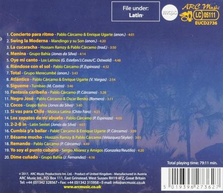 20 best of tropical dance music : salsa, samba, cumbia, lambada, calypso, merengue ...