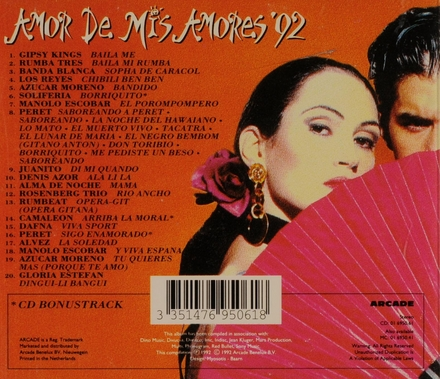 Amor de mis amores '92
