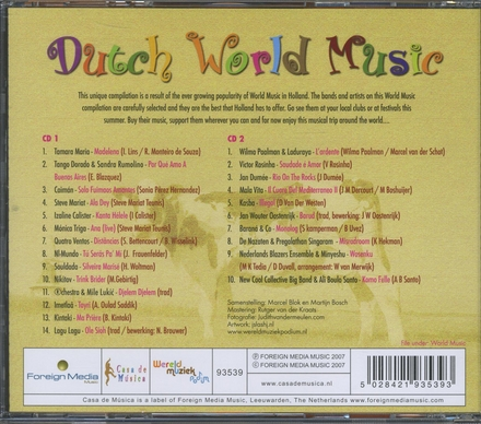 Dutch world music. vol.1