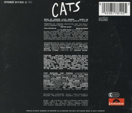 Cats : original cast recording