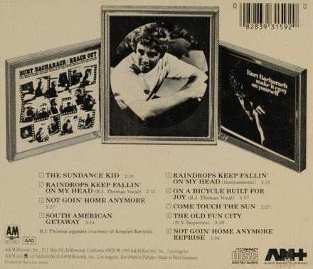 Butch Cassidy and the Sundance Kid : original soundtrack
