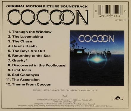 Cocoon : original motion picture soundtrack