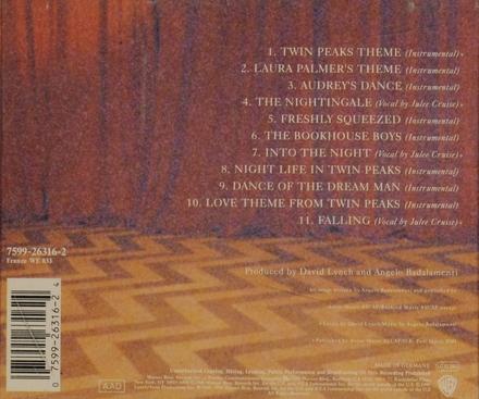 Twin Peaks : soundtrack