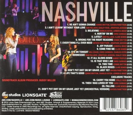 Nashville : The music of Nashville - season 2. vol.2