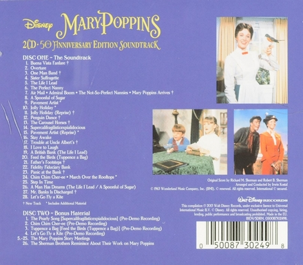 Mary Poppins : 50th anniversary edition