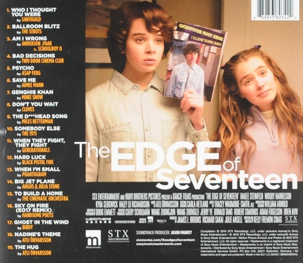 The edge of seventeen : original motion picture soundtrack