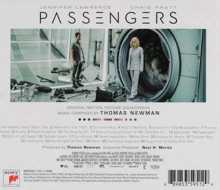 Passengers : original motion picture soundtrack