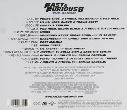 Fast & furious 8 : the album