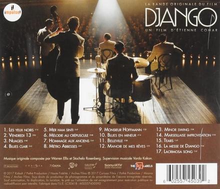 Django : bande originale du film : le Rosenberg Trio interprète les oeuvres de Django Reinhardt