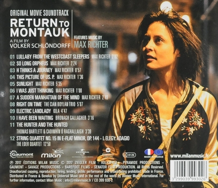 Return to Montauk : original movie soundtrack