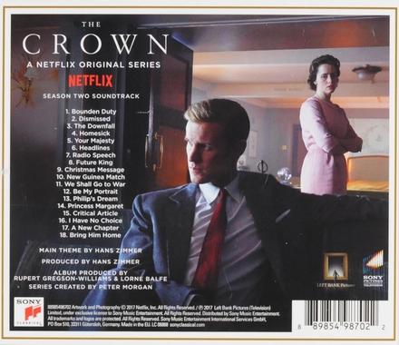 The crown : season two soundtrack