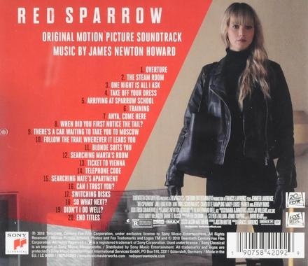 Red sparrow : original motion picture soundtrack