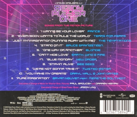 Ready player one : songs from the motion picture